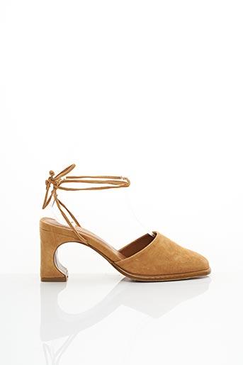 Escarpins marron BY FAR pour femme