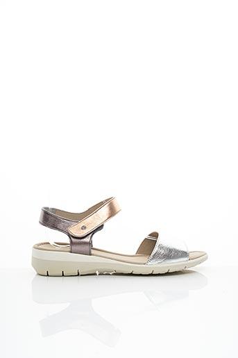 Sandales/Nu pieds rose ARAAL KENT pour femme