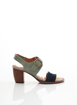 Sandales/Nu pieds vert CHIE MIHARA pour femme