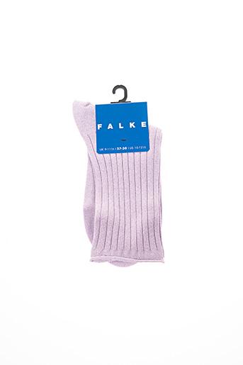 Chaussettes violet FALKE pour fille
