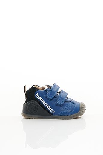 Baskets bleu BIOMECANICS pour fille