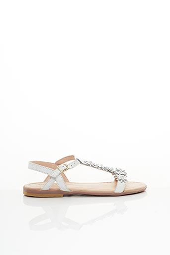 Sandales/Nu pieds blanc CONGUITOS pour fille