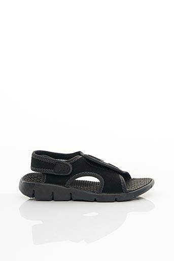 Sandales/Nu pieds noir NIKE pour garçon
