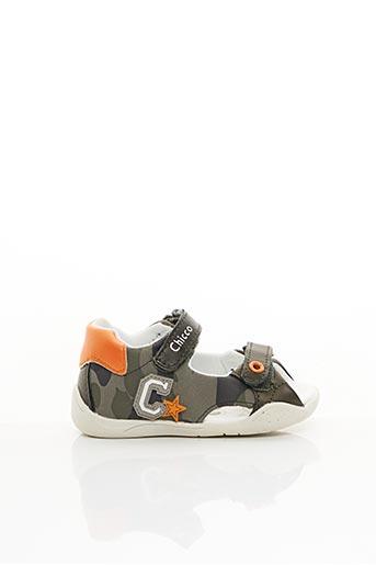 Sandales/Nu pieds vert CHICCO pour garçon