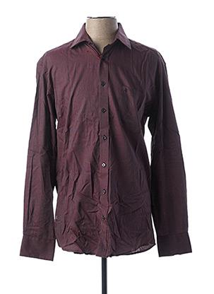 Chemise manches longues violet BEN GREEN pour homme
