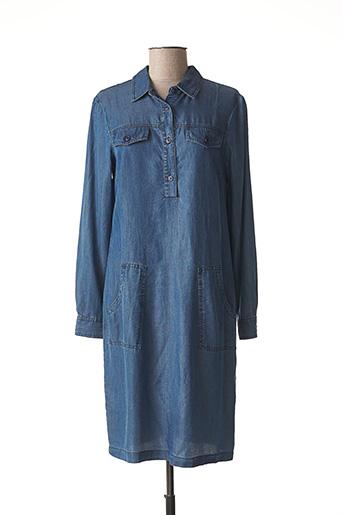 Robe mi-longue bleu ETICI pour femme