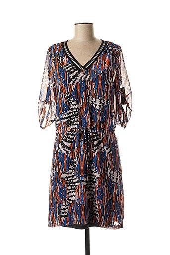Robe mi-longue orange CHATTAWAK pour femme