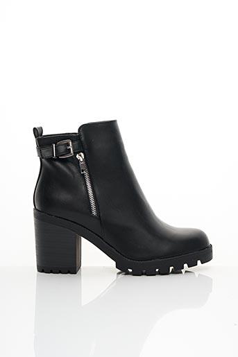 Bottines/Boots noir CINK-ME pour femme