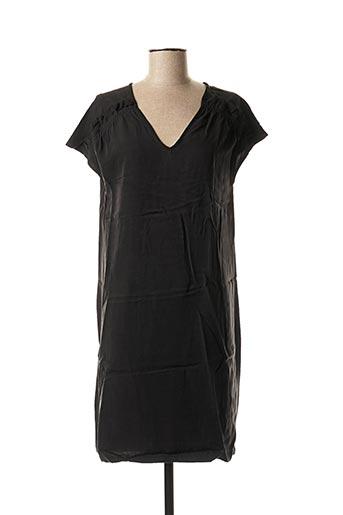 Robe courte noir CKS pour femme