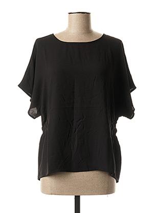 Blouse manches courtes noir VILA pour femme