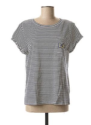 T-shirt manches courtes bleu BEST MOUNTAIN pour femme