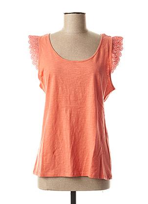 T-shirt manches courtes orange BEST MOUNTAIN pour femme