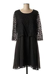 Robe mi-longue noir VILA pour femme seconde vue