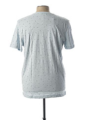 T-shirt manches courtes bleu SELECTED pour homme seconde vue