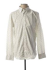 Chemise manches longues blanc SELECTED pour homme seconde vue