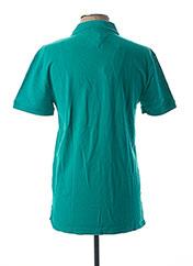 Polo manches courtes bleu TOMMY HILFIGER pour homme seconde vue