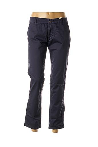 Pantalon casual bleu TOMMY HILFIGER pour femme