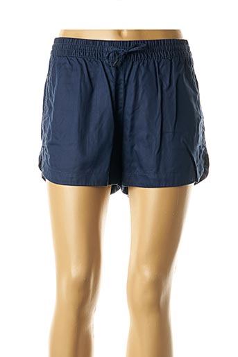 Short bleu TOMMY HILFIGER pour femme