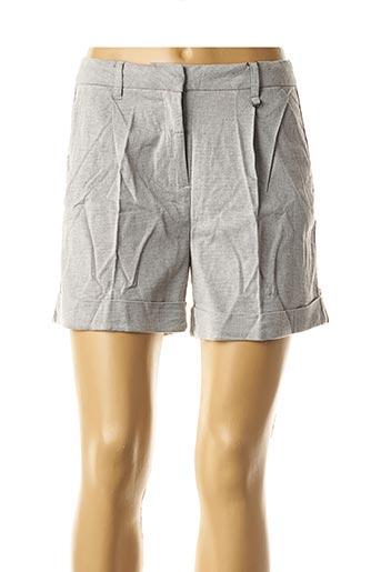Short gris CKS pour femme