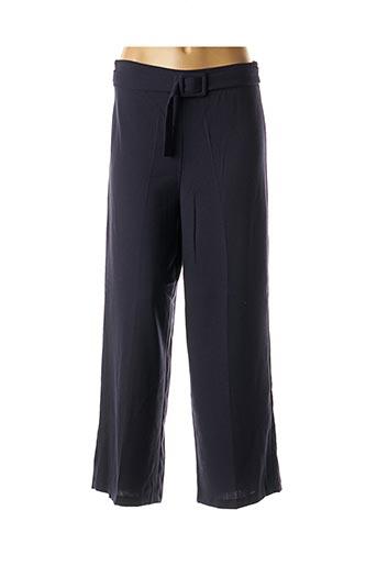 Pantalon 7/8 bleu GRACE & MILA pour femme