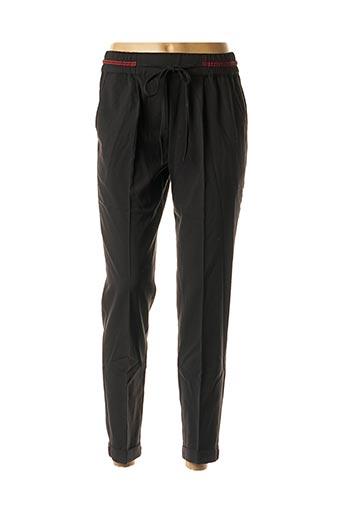 Pantalon 7/8 noir GRACE & MILA pour femme