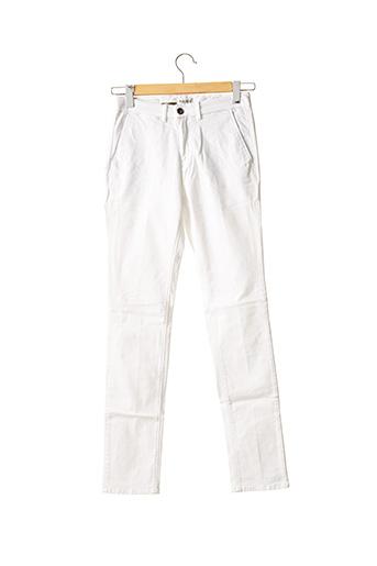 Pantalon chic blanc HAPPY pour homme