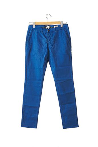 Pantalon chic bleu HAPPY pour homme