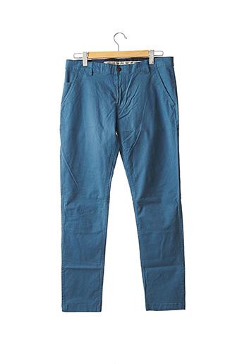 Pantalon chic bleu TOMMY HILFIGER pour homme