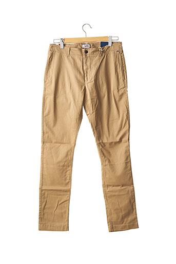 Pantalon chic marron TOMMY HILFIGER pour homme