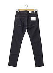 Jeans coupe droite bleu TOMMY HILFIGER pour homme seconde vue