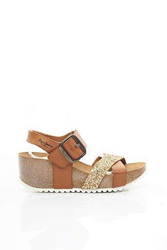 Sandales/Nu pieds marron PEPE JEANS pour femme