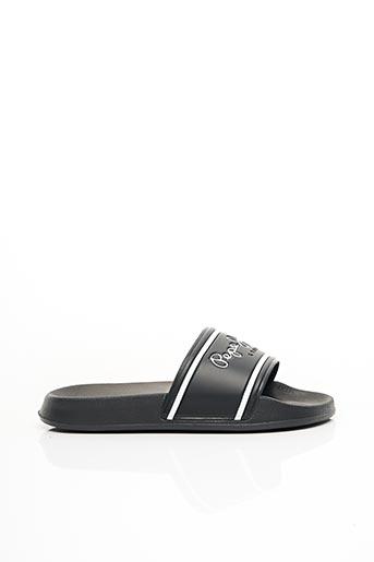 Sandales/Nu pieds noir PEPE JEANS pour homme