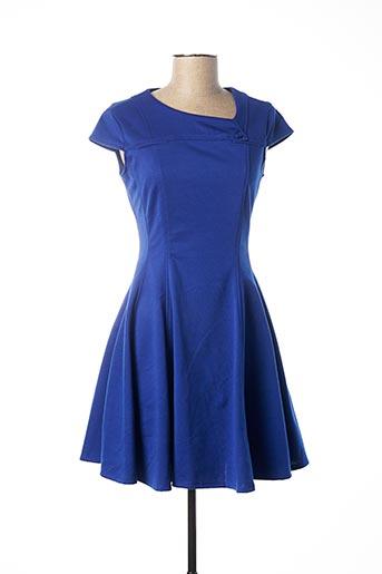 Robe courte bleu ADOLFO DOMINGUEZ pour femme