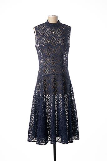 Robe longue bleu ADOLFO DOMINGUEZ pour femme