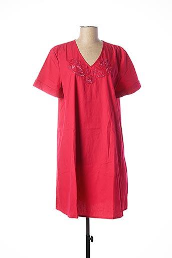 Robe mi-longue rose ADOLFO DOMINGUEZ pour femme