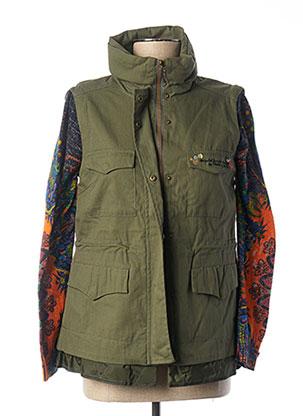 Veste casual vert DESIGUAL pour femme