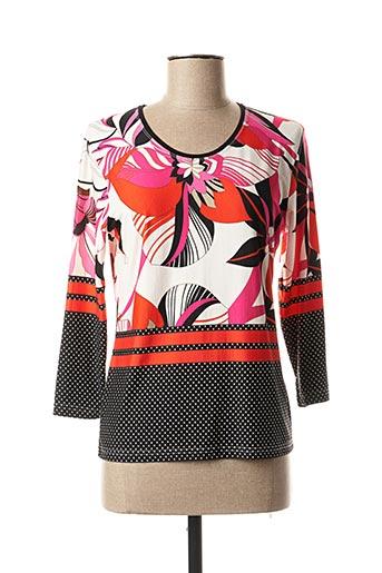 T-shirt manches longues rose QUATRE VINGT JOURS pour femme