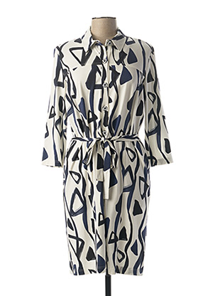 Robe mi-longue bleu GEVANA pour femme