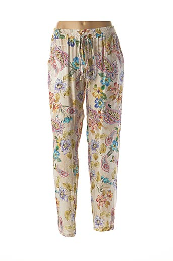 Pantalon casual beige EGO pour femme