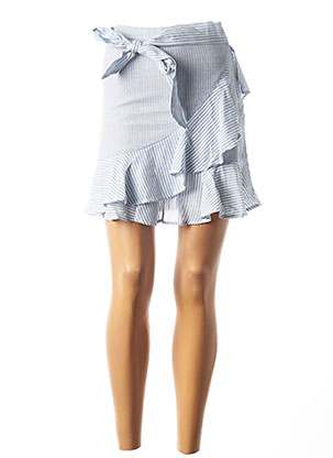 Jupe courte bleu TEDDY SMITH pour femme