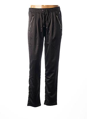 Pantalon casual noir TEDDY SMITH pour femme