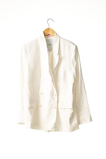 Veste chic / Blazer blanc CLOSED pour femme
