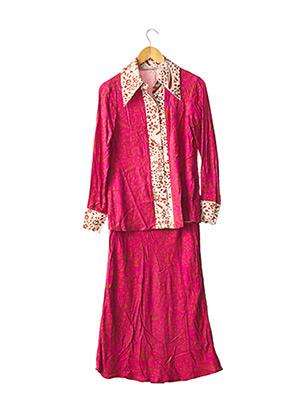 Veste/jupe rose IMPREVU pour femme