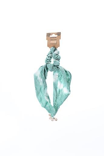 Accessoire pour cheveux vert HIPANEMA pour femme
