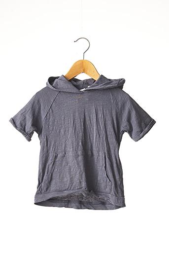 T-shirt manches courtes gris ZARA pour enfant