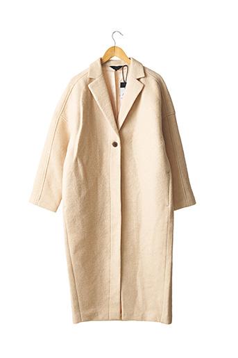 Manteau long beige CULT STUDIOS pour femme