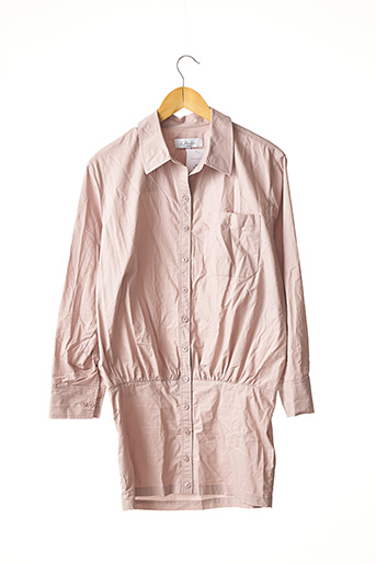 Robe courte violet L'ACADEMIE pour femme