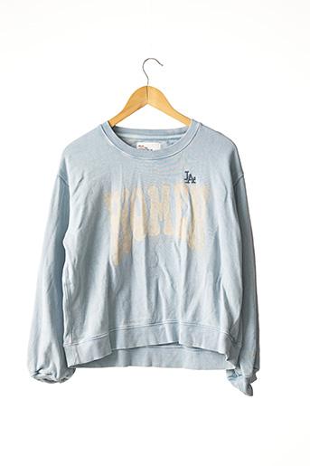 Sweat-shirt bleu LEON & HARPER pour femme