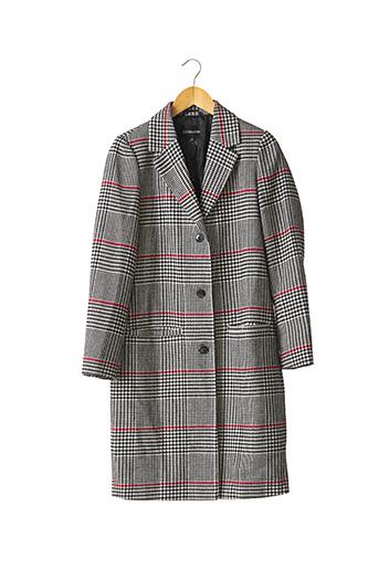 Manteau long noir SANDWICH pour femme