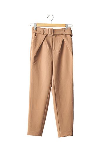 Pantalon casual beige CAMILA COELHO pour femme